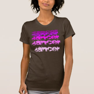 marrón del rosa de la camisa del calentamiento del