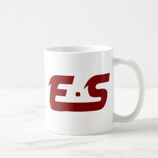 Marrón fangoso original de E.S Tazas De Café