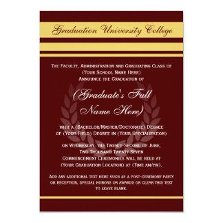 Marrón formal del ~ de las invitaciones de la invitaciones personales
