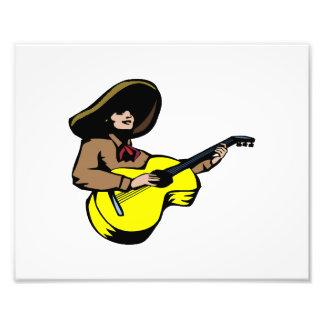 marrón mexicano yellow.png del guitarrista arte con fotos