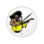 marrón mexicano yellow.png del guitarrista reloj