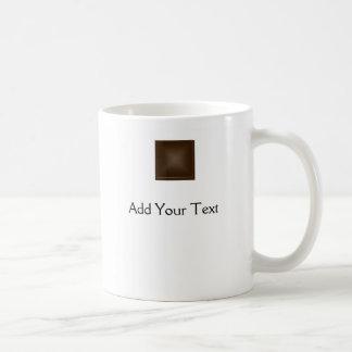 Marrón rico clásico taza