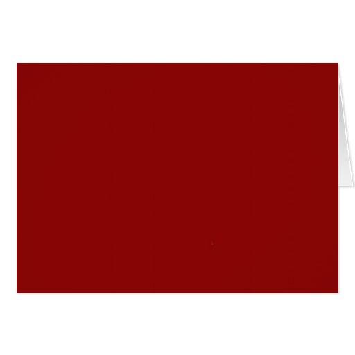 Marrón rojo felicitaciones