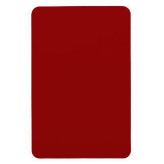 Marrón rojo imanes