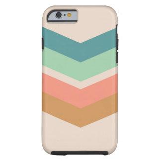 Marrón rosado verde del caso del iPhone 6 del Funda Para iPhone 6 Tough