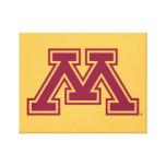 Marrón y oro M de Minnesota