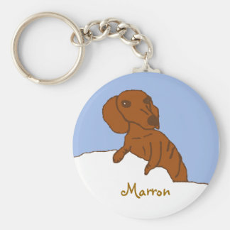 marrondrawing, Marron Keychain