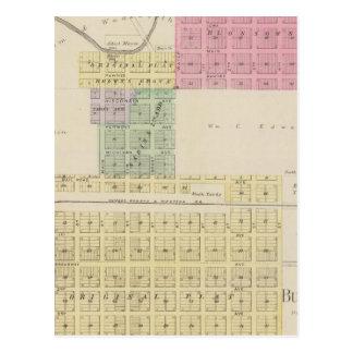 Marrones Groveand Burdett, Kansas Postal