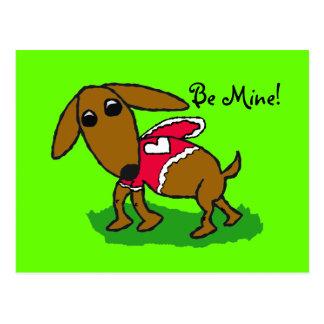 marronvalentine, Be Mine! Postcard