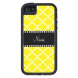Marroquí amarillo conocido personalizado iPhone 5 cobertura