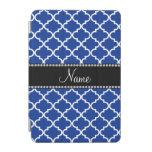 Marroquí azul conocido personalizado cubierta de iPad mini