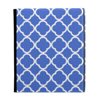 Marroquí azul Quatrefoil de Han