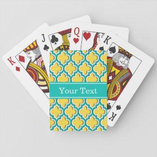 Marroquí blanco #5DS lunes conocido del trullo Cartas De Póquer