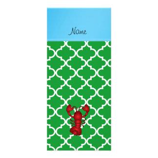Marroquí conocido personalizado del verde de la lonas