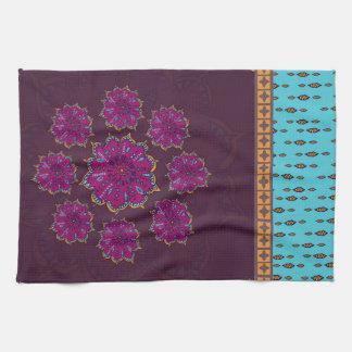 Marroquí Moonflower #1 Toallas De Mano