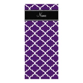 Marroquí púrpura conocido personalizado lona publicitaria