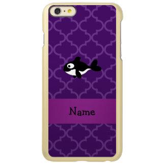 Marroquí púrpura personalizado de la ballena