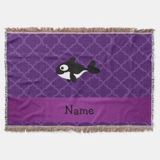 Marroquí púrpura personalizado de la ballena manta