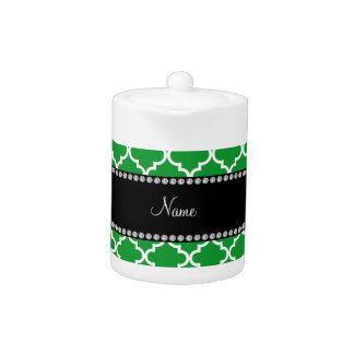 Marroquí verde conocido personalizado