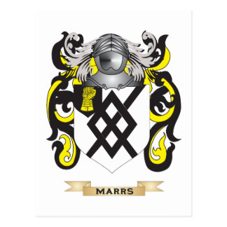Marrs Coat of Arms (Family Crest) Post Cards