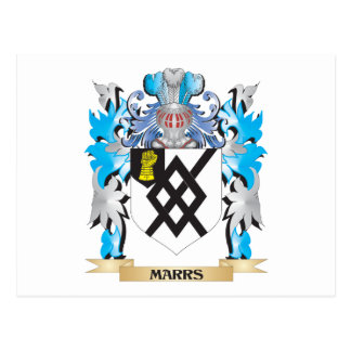 Marrs Coat of Arms - Family Crest Postcard