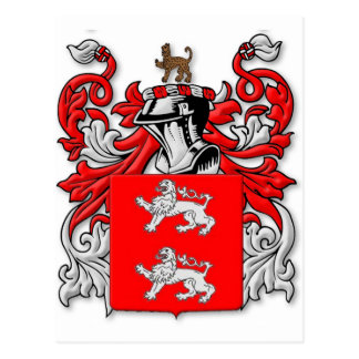 Marrs Coat of Arms Postcard