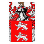 Marrs Coat of Arms Stationery Design