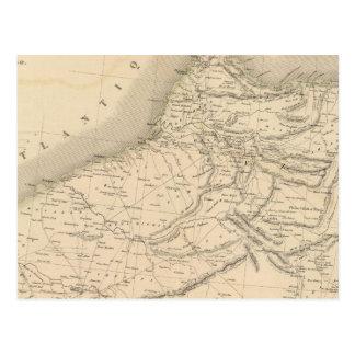 Marruecos 3 postal