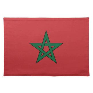 Marruecos - bandera marroquí mantel