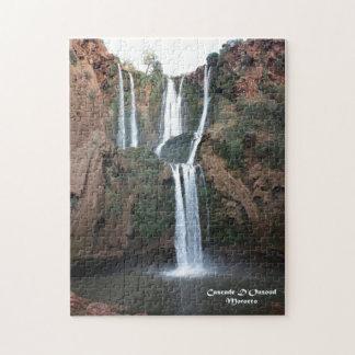 Marruecos-Cascada D'Ouzoud Puzzle Con Fotos
