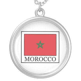 Marruecos Collar Plateado