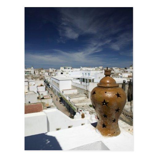 MARRUECOS, costa atlántica, ESSAOUIRA: Alto ventaj Tarjetas Postales