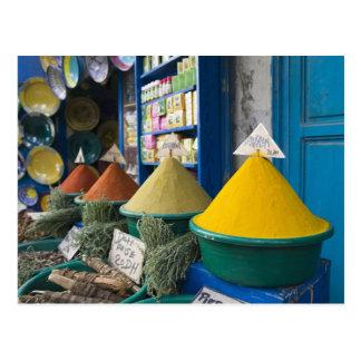MARRUECOS, costa atlántica, ESSAOUIRA: Mercado de  Postal