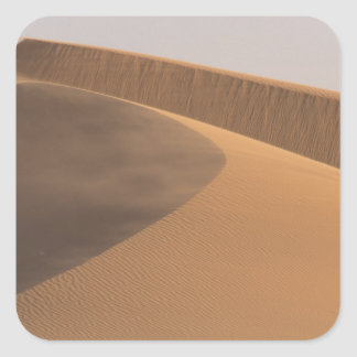 Marruecos, dunas de arena, valle de Draa Colcomanias Cuadradas Personalizadas