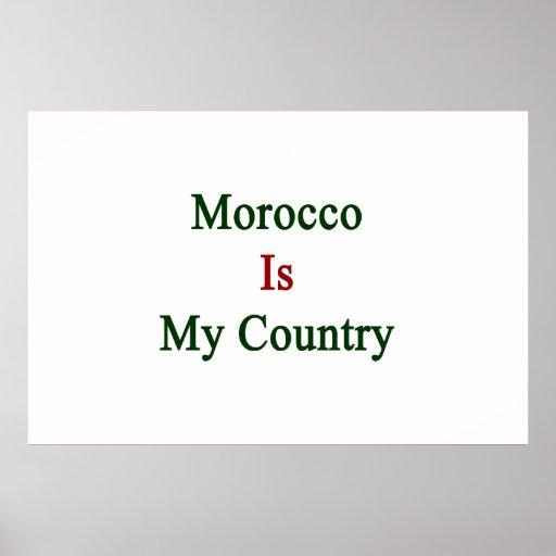 Marruecos es mi país impresiones