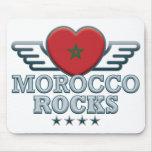 Marruecos oscila v2 tapetes de ratón