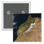 Marruecos Pin Cuadrado