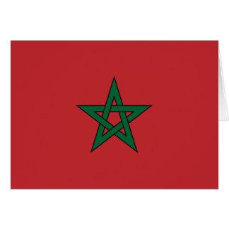 Marruecos Tarjeta De Felicitación