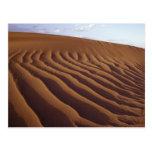 Marruecos, Tinfou cerca de Zagora), dunas de arena Postales