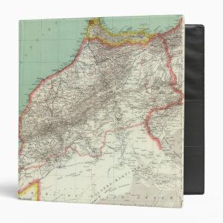 """Marruecos y Argelia Carpeta 1 1/2"""""""