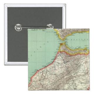 Marruecos y Argelia Pins