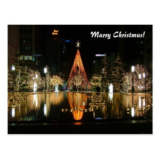 Marry Christmas! Postcards