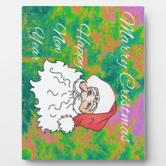 marry christmast plaque