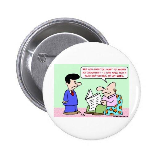 marry daugher wife deal button