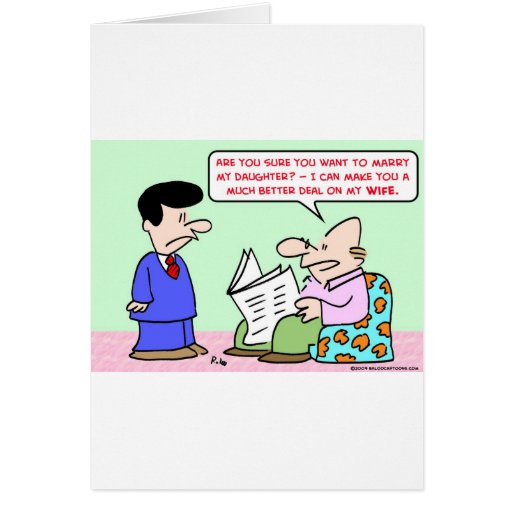 marry daugher wife deal cards