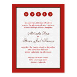 Marry Invitation Postcard