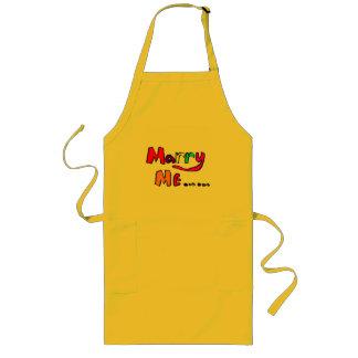 marry me #2 long apron