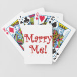 Marry Me! Bicycle Card Deck