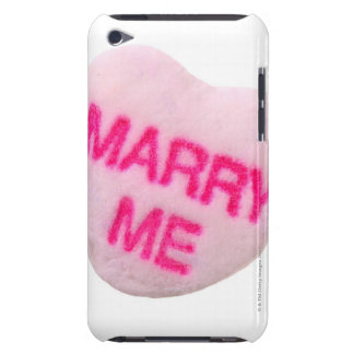 Marry me candy heart barely there iPod covers