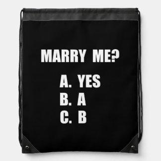 Marry Me Cinch Bags